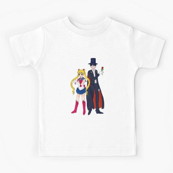 Sailor Moon and Tuxedo Mask Kids T-Shirt