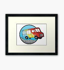 Ice Cream Truck Framed Print