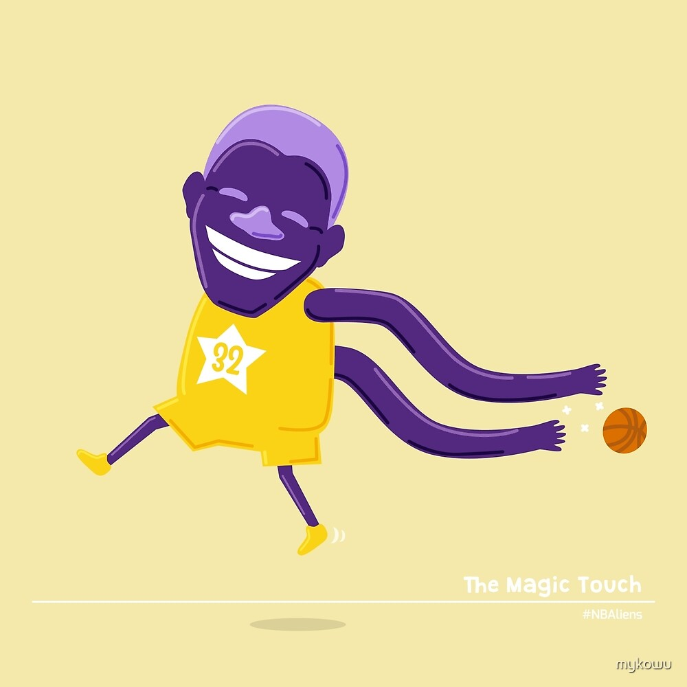 Magic Johnson's Magic Touch by mykowu