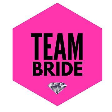 Team Bride - Bachelorette Party by BashFromOhio