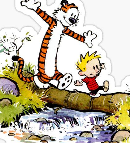 Calvin Hobbes Sticker