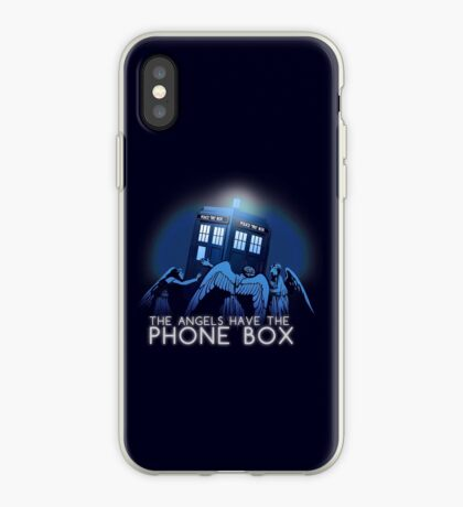 The Angels Have the Phone Box iPhone Case