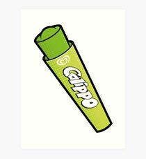 Lime Calippo Art Print