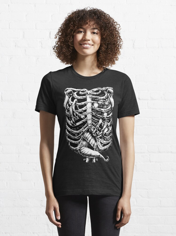 Alternate view of Ribcage monster Essential T-Shirt