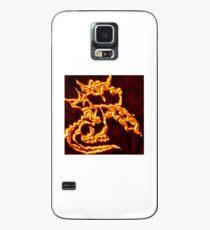 Draco the Dragon burning Case/Skin for Samsung Galaxy