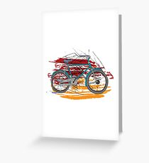 Bikes - Bicycles Greeting Card
