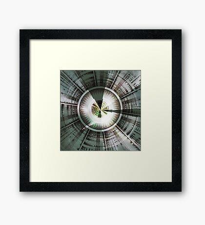 Circling Desires Framed Print