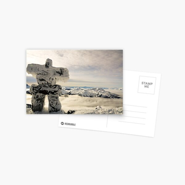 The Inukshuk of Blackcomb Postcard