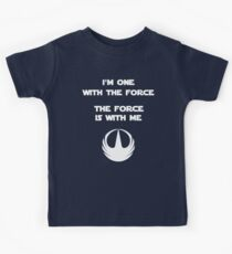 Star Wars Rogue One - I'm One with the Force Kids Clothes