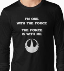 Star Wars Rogue One - I'm One with the Force Long Sleeve T-Shirt