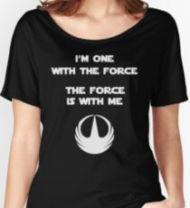 Star Wars Rogue One - I'm One with the Force Women's Relaxed Fit T-Shirt