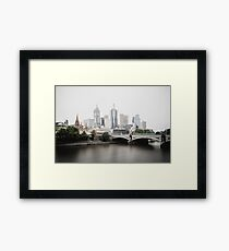 Melbourne CBD #2 [Long Exposures] Framed Print