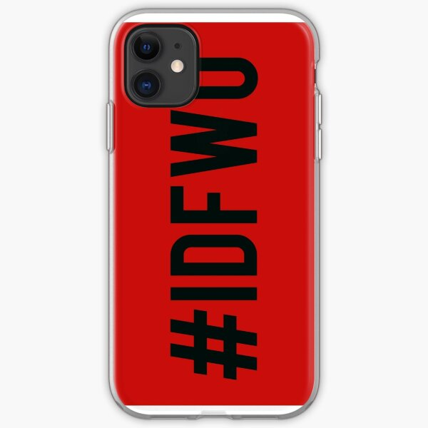 #IDFWU iPhone Soft Case
