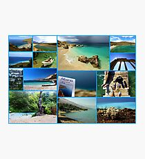 Collage/Postcard from Albania 3 - Travel Photography Photographic Print
