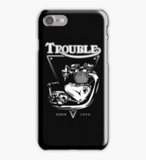 Trouble Engine iPhone Case/Skin