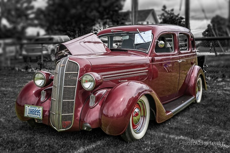1936 dodge 4 door sedan by photosbyhealy redbubble for 1936 dodge 4 door sedan