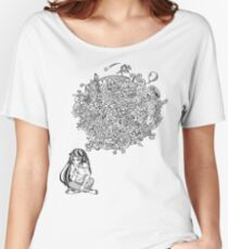 Overthinking Girl Women's Relaxed Fit T-Shirt