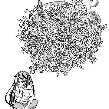 Overthinking Girl by JordanJade