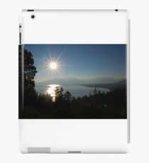 Sunrise at Lake Tahoe iPad Case/Skin