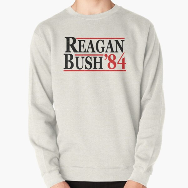REAGAN BUSH 84 Pullover Sweatshirt