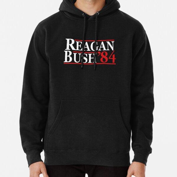 REAGAN BUSH 84 Pullover Hoodie