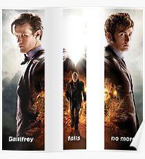 Gallifrey Falls No More Poster