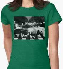 Panda Road Womens Fitted T-Shirt