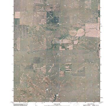 USGS TOPO Map Colorado CO Dolan Spring 20110118 TM by wetdryvac