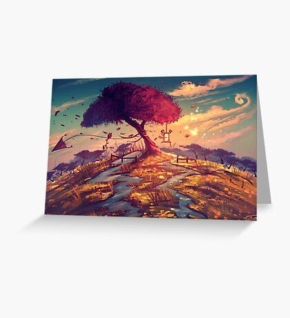 Sakura Tree Greeting Card
