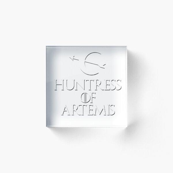 Huntress of Artemis game Acrylic Block