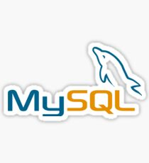 database mysql data Sticker