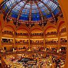 Galeries Lafayette, Paris by Erik Schlogl