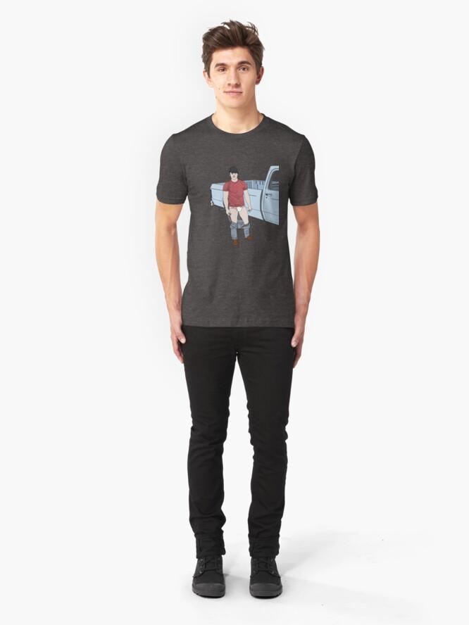 Alternate view of Truckin' Slim Fit T-Shirt