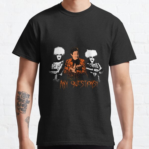 David S. Pumpkins - Any Questions? VIII Classic T-Shirt