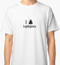 I Love Lepidoptera Classic T-Shirt