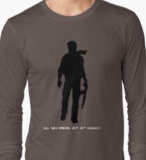 Nathan Drake (Uncharted, quote) Long Sleeve T-Shirt