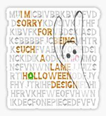 happy HOLLOWeen Sticker
