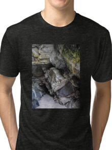 Caves of Maghera - County Donegal, Ireland #2 Tri-blend T-Shirt