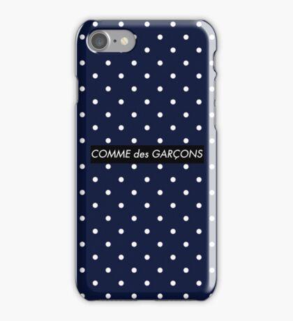 Supreme x Comme des Garçons Dotted Bogo iPhone Case/Skin
