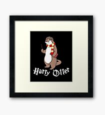 Harry Otter Framed Print