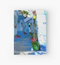 Chefchaouen, Morocco Hardcover Journal