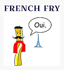 French Fry Photographic Print