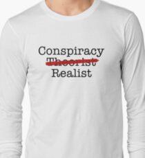Conspiracy Realist Long Sleeve T-Shirt