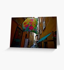 Stockholm - Gamla Stan. Sweden. by Doctor Andrzej Goszcz. Has been sold ! Sales: 2. Views: 1209 .  Greeting Card