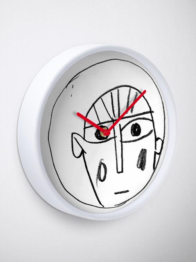 """Alternative Ansicht von Zeitfenster """"Ich guck nur"""" Uhr"""