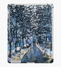 Winter ice and snow. Trees in snow.  iPad Case/Skin