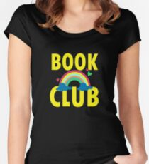 BOOK CLUB GIFT T SHIRT Women's Fitted Scoop T-Shirt