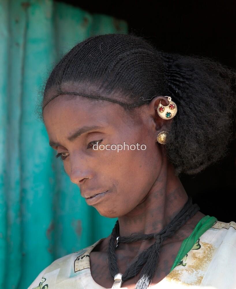 Ethiopian Woman by docophoto