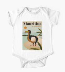 MAURITIUS; Vintage Travel and Tourism Print Kids Clothes