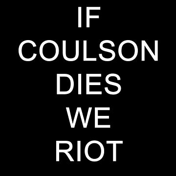 If Coulson dies by thelifeiknew
